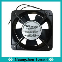 220V Comonweaith 15x15cm cooling rotary fan 38W with box packing FP-108EX-S1-S
