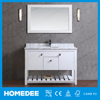 HOMEDEE complete all in one bathroom units bathroom vanities with legs