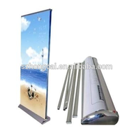 New functional water base roller banner stand
