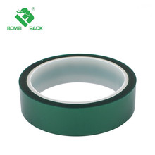 Soft and Tender Green PET Film Splicing Tape Silicone Adhesive Switch Bonding Tape