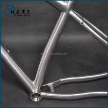"19"" Titanium MTB bike frame for sale"