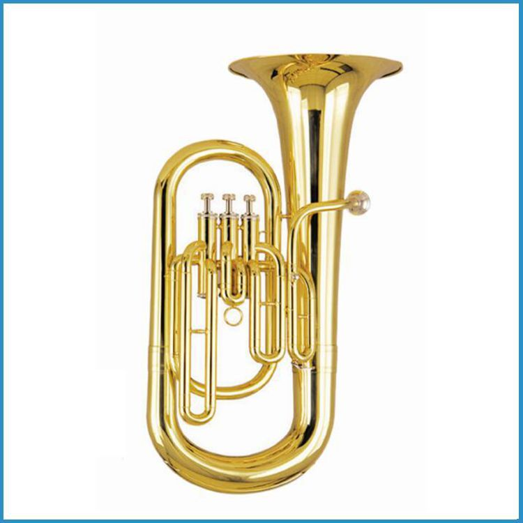 Euphonium 3 pistons brass band, euphonium horn Bb key, euphonium for sale
