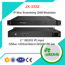 1024IP to 32 IP QAM RF Modulator with Mux