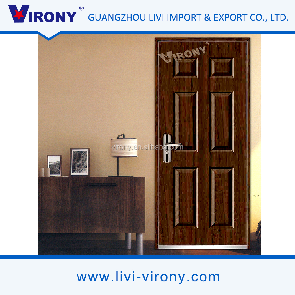 Factory wholesale anti-corrosion interior steel door