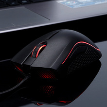 2017 China new stlye breathing led light gaming mice wired programmable optical 4800dpi drivers usb 6d gaming mouse