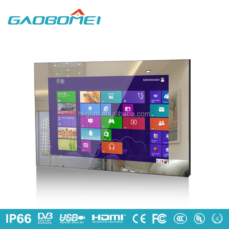 Factory supply sauna room waterproof lcd tv