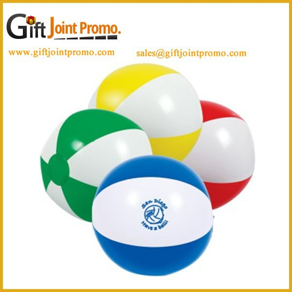 Promotional PVC Inflatable Beach Ball, Wholesale PVC Beach Ball