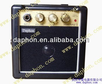 So popular 3W mini guitar amps for retail-Christmas season promoting