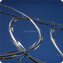 Safety Galvanized Welded Razor Wire Fence,Razor Barbed Wire Security Fence