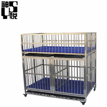 China Stainless steel commercial modular dog kennel price for sale