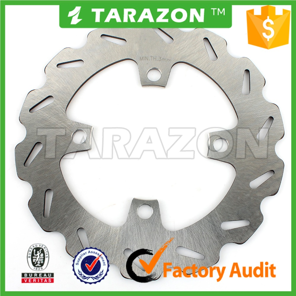 ATV Wave Stainless Steel Front Brake Disk Rotor For YFM 350 400