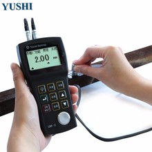 digital ultrasonic thickness measuring tool portable pipe thickness gauge