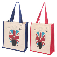 new style cheap gift shopping carry tote handbag logo printing cotton bag