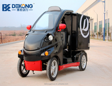 Brand new box type one single seat small electric cargo delivery van for sale