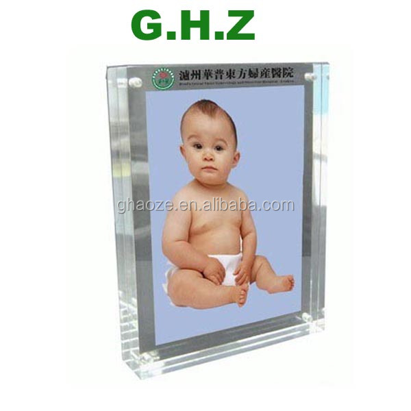 Acrylic Magnetic Photo Frames 8x6 inch Photo Factory