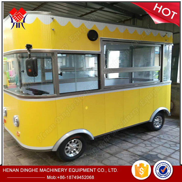hot dog ice cream food cart concession trailer, mini truck food, used food trucks for sale in germany