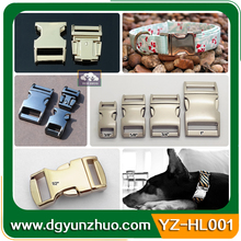 Wholesale Side Release Buckles/metal Buckles For Dog Collars, Curved Metal Buckles