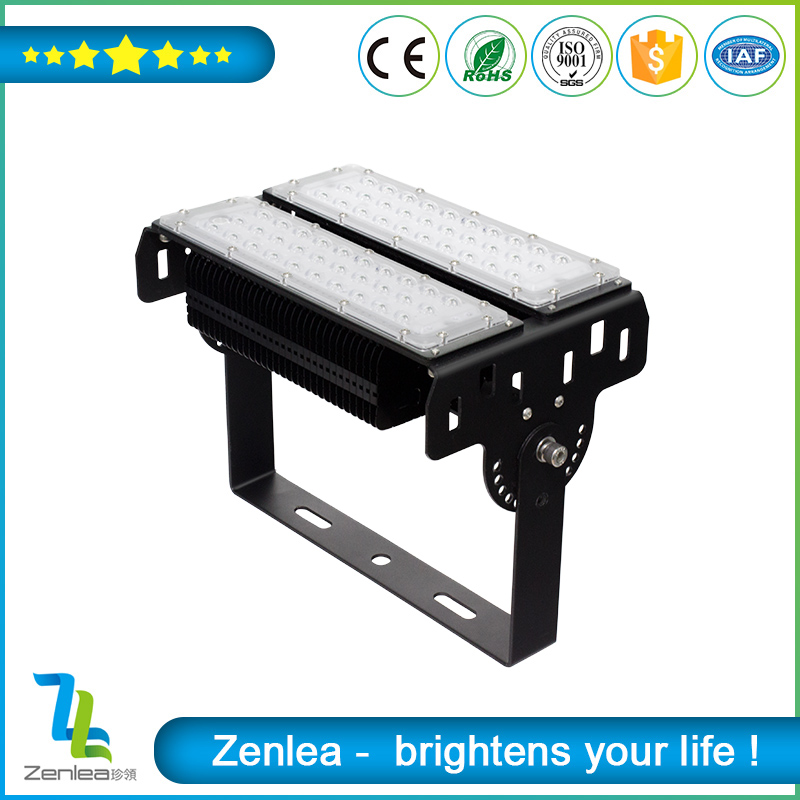 100w long-distance die cast aluminum module linear led flood light
