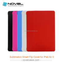 New 2D Sublimation Smart Cover Case for iPad Air 2, for iPad 6