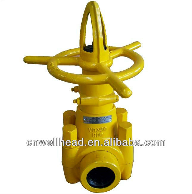 OTECO MUD GATE VALVE,RUBBER SEALS VALVE,THREADED END GATE VALVE