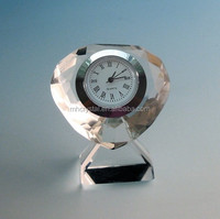 Small Crystal Desk Clock MH-C0112