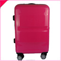 Shining ABS+PC hard shell travel trolley luggage