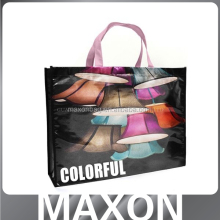 Low Price silk printing custom non-woven shopping bag made in China's factory