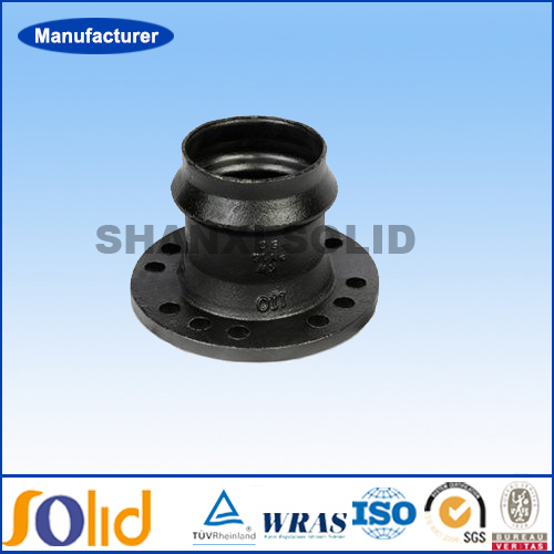 ISO2531 ductile iron pipe fitting for PVC pipe