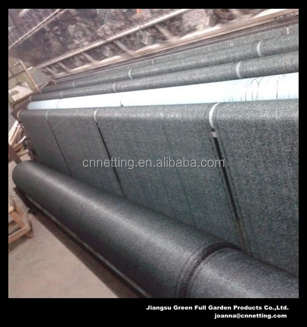 Dark Green Agriculture Sun Shade Netting Factory