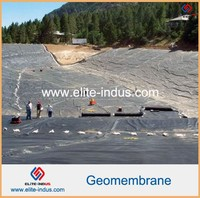 Smooth Surface HDPE Geomembrane For Farm Slurry Lagoon Liners
