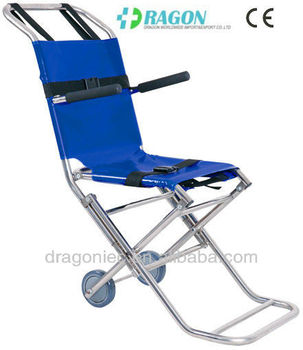 DW-ST005 stainless steel folding stair chair medical stretcher