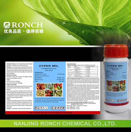 Chemical formula of insecticide/Bio Pesticide in agriculture/Cypermethrin 10%EC