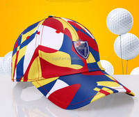 Fashion golf lady's Printing baseball hat breathable women's sports Golf ball baseball Caps