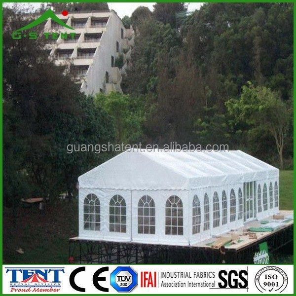 garden decoration aluminum frame zip up tent