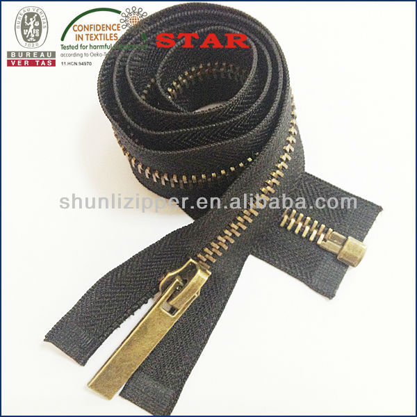 All kinds of large zippers in stock for sale