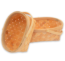 Mini Small Tiny Wood Chips Basket