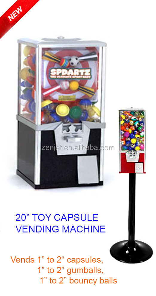 toy capsule vending machine ZJ320chicle maquinas expendedoras)