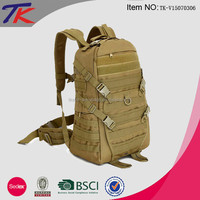Canvas Adventure Backpack Military Backpack Tactical with Custom Design