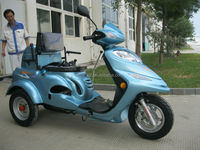 110cc/125cc three wheel scooter for handicapped