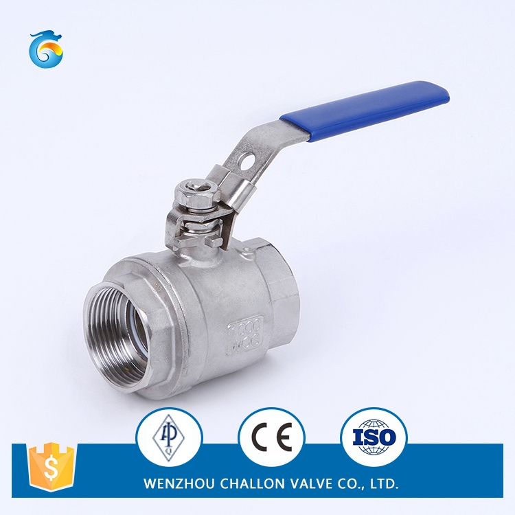 1/4-4 inch 2PC Stainless Steel mini threaded ball valve