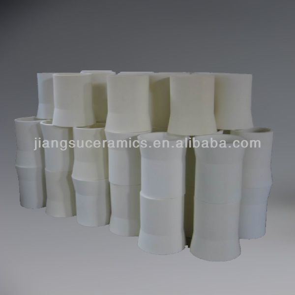 Large alumina ceramic sleeve industrial ceramic tube