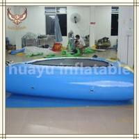 Heavy Duty Water Jumping Tranpoline for Inflatable Water Park,Best Quality Inflatable Water Game