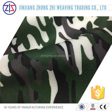 Camouflage Print Polyester Scuba Knit Fabric for Shoes