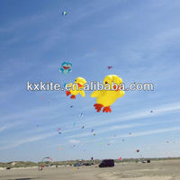 inflatable duck kite, parafoil kite from kaixuan kite in Weifang China