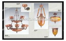 2012 USA Hotel chandelier wooden pendant lamp