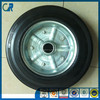 qingdao 8 inch hot sale solid rubber wheel for wheelbarrow