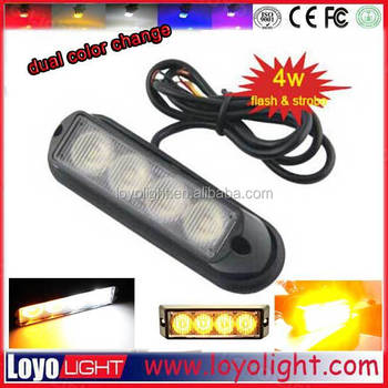 wholesale windshield auto zone strobe light led bar emergency security car 12v 24v
