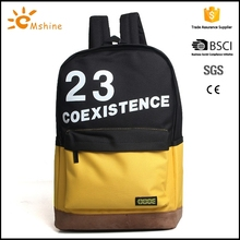 New fashionable wholesale comfortable designer stylish wholesale cheap nylon polyester cotton drawstring backpack shoe bag