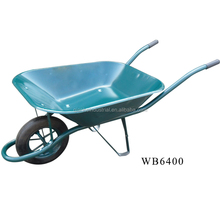 south africa Metal names of construction tools steel wb6400 wheel barrow with CE Certificate