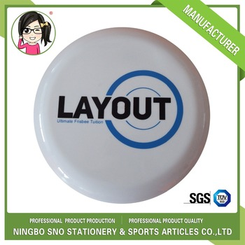 Wholesale custom New plastic 175g Ultimate Flying frisbee disc